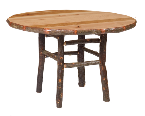 Hickory Round Dining Table Standard Height