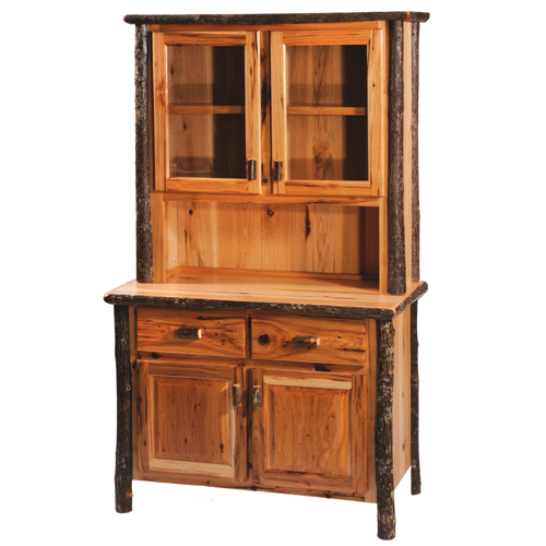 Hickory Buffet and Hutch