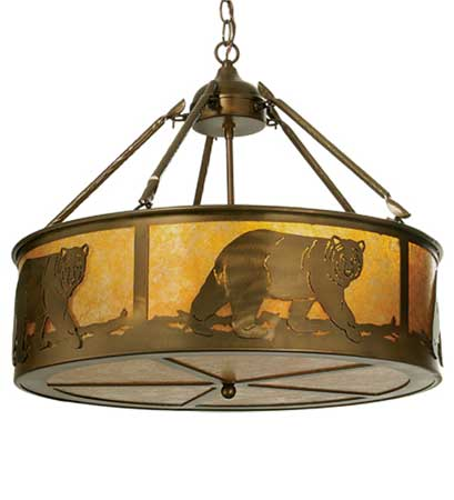 Black Bear Light Fixture