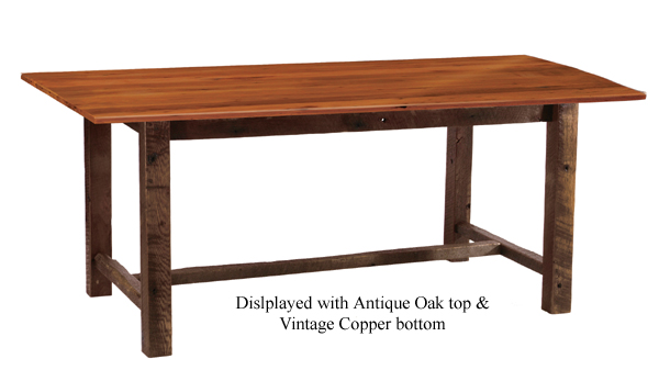 Barnwood Farmhouse Dining Table Counter Height