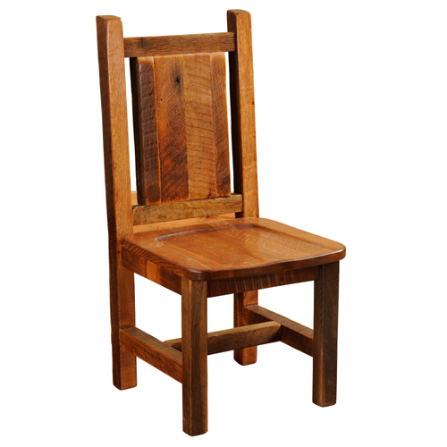 Barnwood Artisan Dining Chair