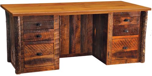Barnwood Executive Desk