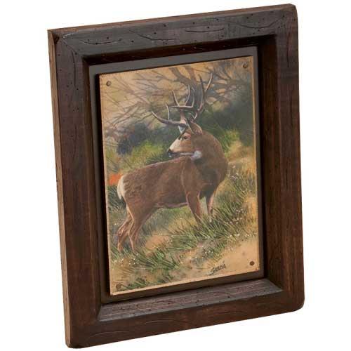 Whitetail Deer Last Look Wall Art