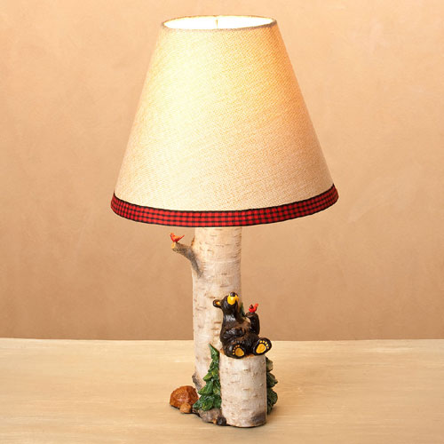 Nature Lover Bear Lamp