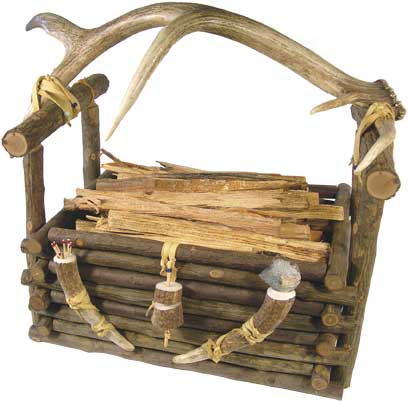 Hickory Pole Basket