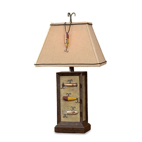 Fishing Lure Table Lamp