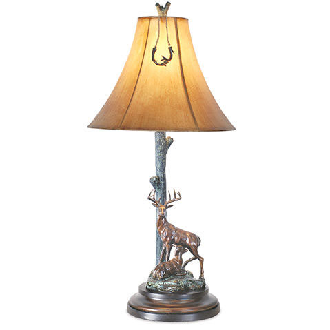 Buck/Doe Table Lamp I