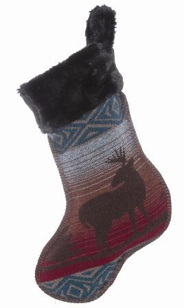 Deer Meadow Christmas Stocking
