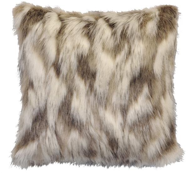 Tibetan Fox Fur Pillow