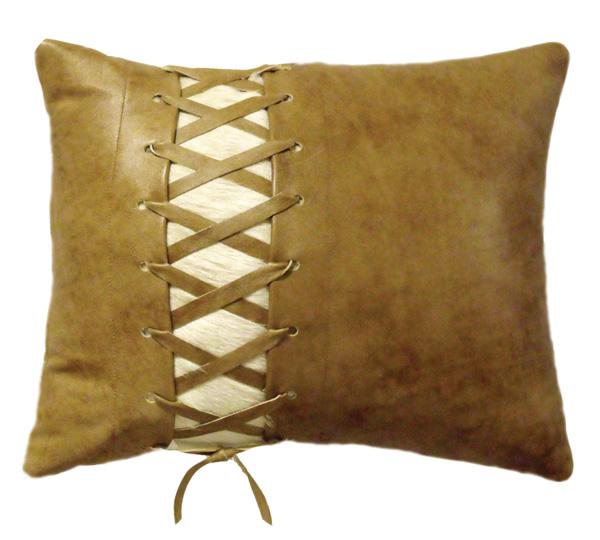 Sagebrush Leather Pillow