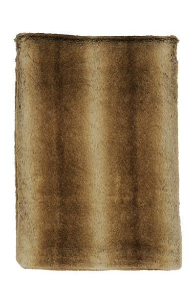 Chinchilla Fur Throw