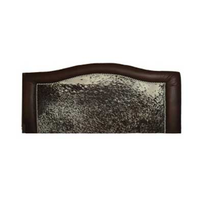 Round Top Leather Head Board