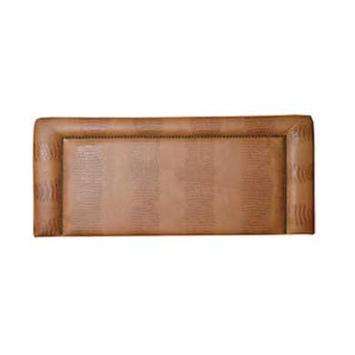 Square Edge Leather Head Board