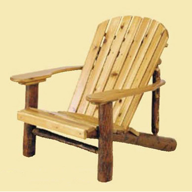 Adirondack Chair w/Paddle Arms