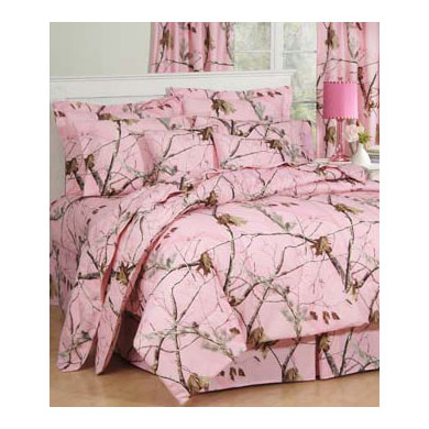 Pink Camo Bedding