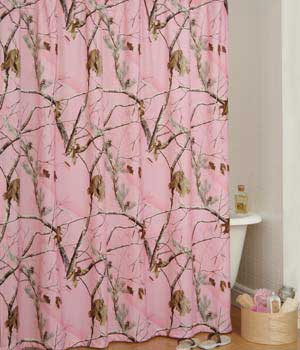 All Purpose Pink Shower Curtain