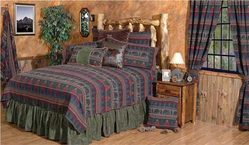 Cabin Bear Linens