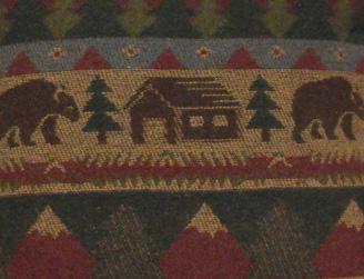 Cabin Bear Fabric