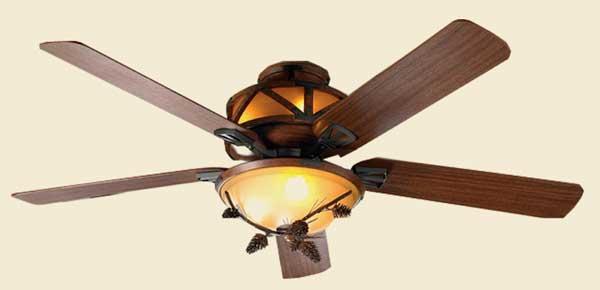 Pine Cone Ceiling Fan