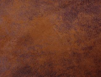 Cognac Faux Leather