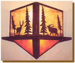 Diamod Wilderness Sconce