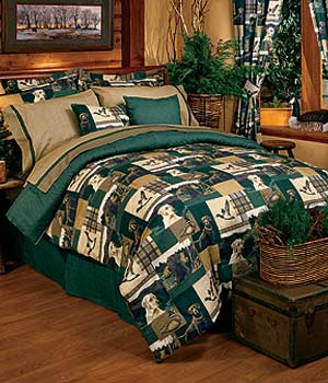 Dogs and Ducks Bedding