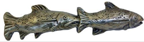 Fish Pair Drawer Pull