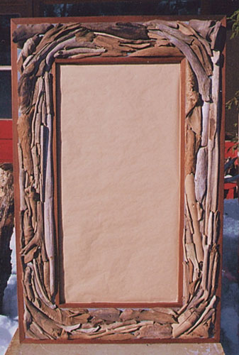 Driftwood Mirror/Picture Frame