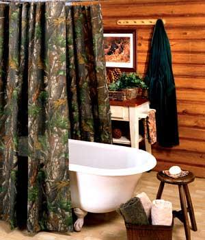 Hardwoods Shower Curtain