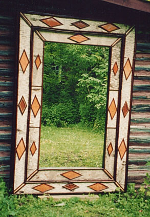 Birch Bark Mirror/Frame