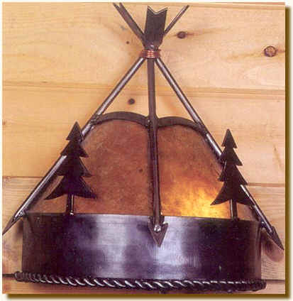 Mountain Woods Sconce