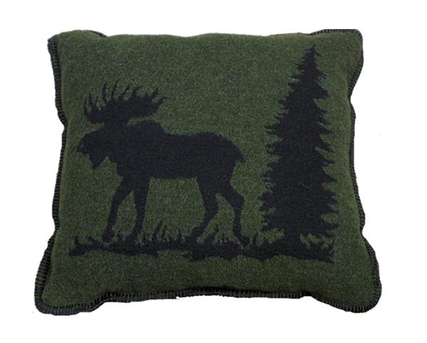 Moose I Wool Pillow