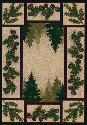 Pine Forest Area Rug