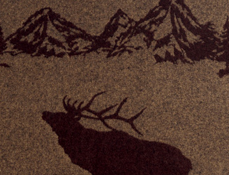 Rocky Mountain Elk Fabric