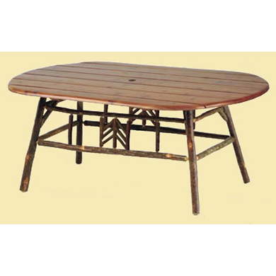 Smoky Mountain Oval Dining Table