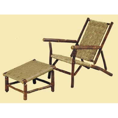 Sun River Deck Chair with Ottoman