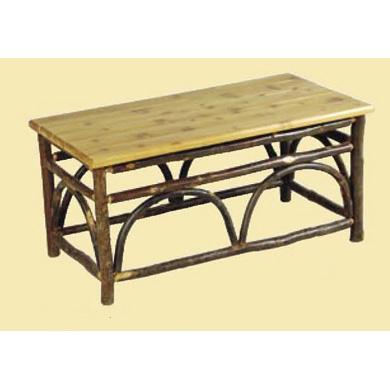 Sun Valley Coffee Table With Cedar Top