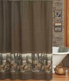 Whitetail Dreams Shower Curtain
