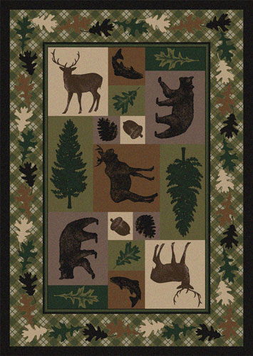 Wilderness Retreat Area Rug