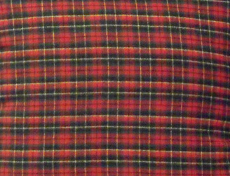 River Plaid I Fabric