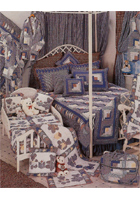Sail Log Cabin Linens