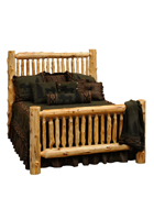 Cedar Bed - Small Spindles