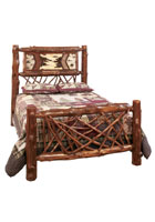 Adirondack Twig Bed