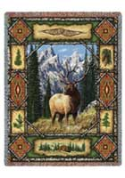 Elk Lodge Throw