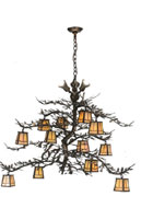 Pine Branch Valley Chandelier