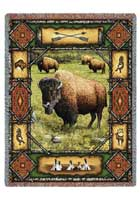 Buffalo Lodge Throw