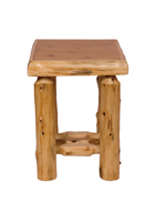 Cedar Open Nightstand
