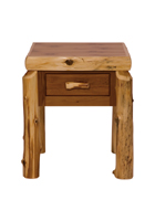 Cedar One Drawer Nightstand