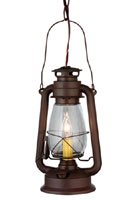 Miner's Lantern Mini Pendant Light