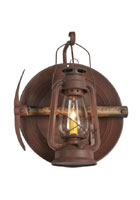 Miners Lantern Wall Sconce